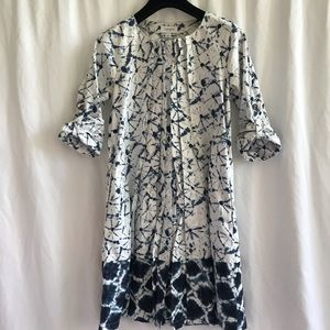 Thakoon for target Buttoned up Tie Dye Dress